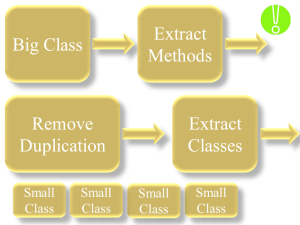 Refactor Small Steps