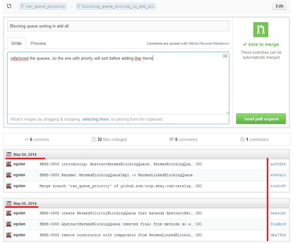 GIT Pull Requests Using GitHub (5/6)